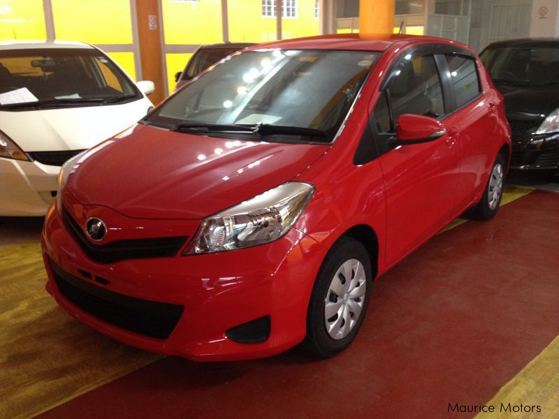 Used Toyota VITZ - RED for sale in Eau Coulée, Curepipe