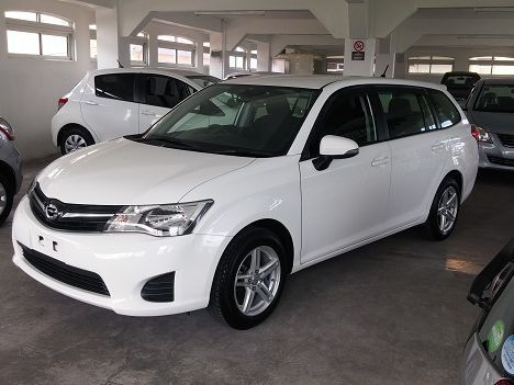 Used Toyota Fielder for sale in Vacoas