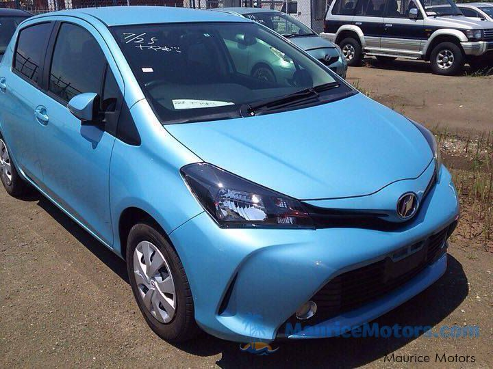 Used Toyota VITZ - BLUE for sale in Port Louis