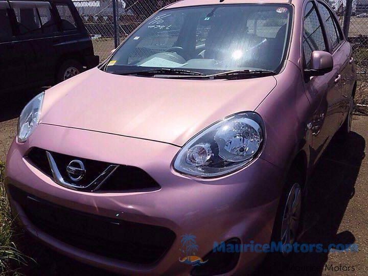 Used Nissan MARCH K13 - PINK for sale in Port Louis