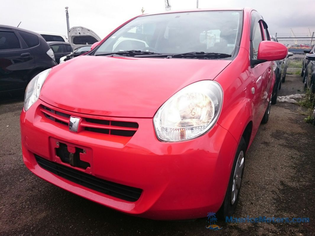 Used Toyota PASSO - RED for sale in Port Louis
