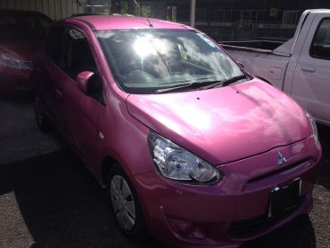 Pre-owned Mitsubishi MIRAGE - PINK for sale in