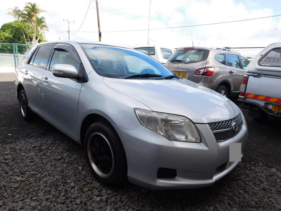 Used Toyota FIELDER - SILVER for sale in Camp Fouquereaux