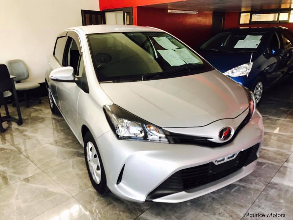 Pre-owned Toyota VITZ - SILVER - 1320cc NEW SHAPE for sale in