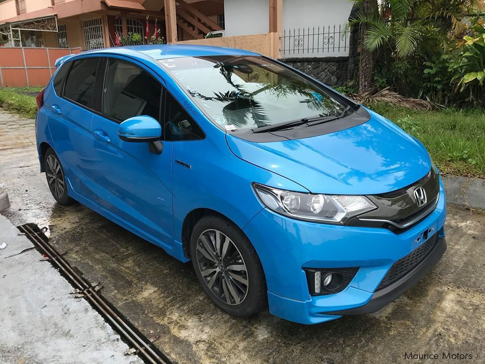 Pre-owned Honda FIT - HYBRID - BLUE - S PACK for sale in