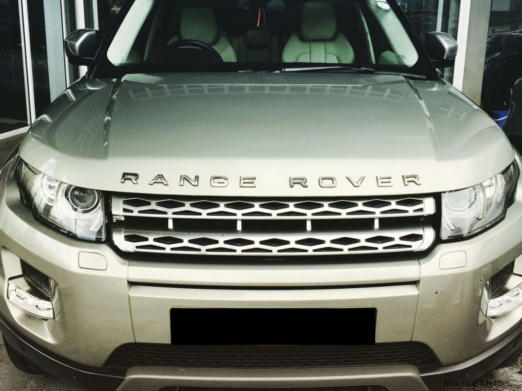 Used Land Rover RANGE ROVER EVOQUE Si4 - TURBO STEPTRONIC - PADDLE SHIFT - WHITE LEATHER SEATS & DASHBOARD for sale in Floreal