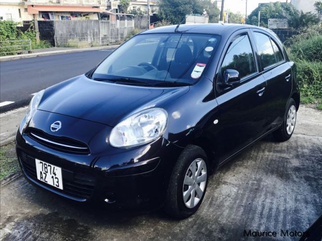 Pre-owned Nissan MARCH K13 - BLACK for sale in