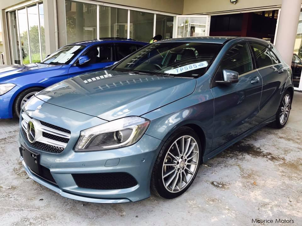 Pre-owned Mercedes-Benz A180 - TURBO AMG SPORT PACKAGE - BLUE SILVER MET for sale in