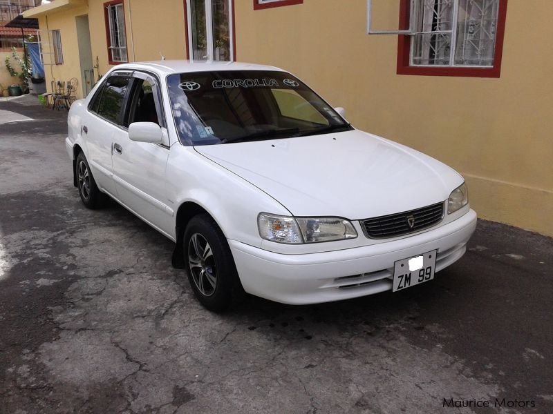 Used Toyota EE111 for sale in Mauritius