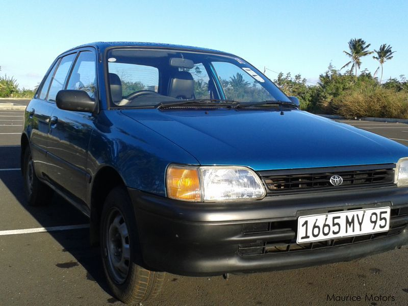 Pre-owned Toyota Starlet for sale in Mauritius
