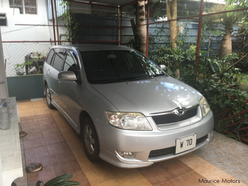 Pre-owned Toyota Fielder for sale in Mauritius