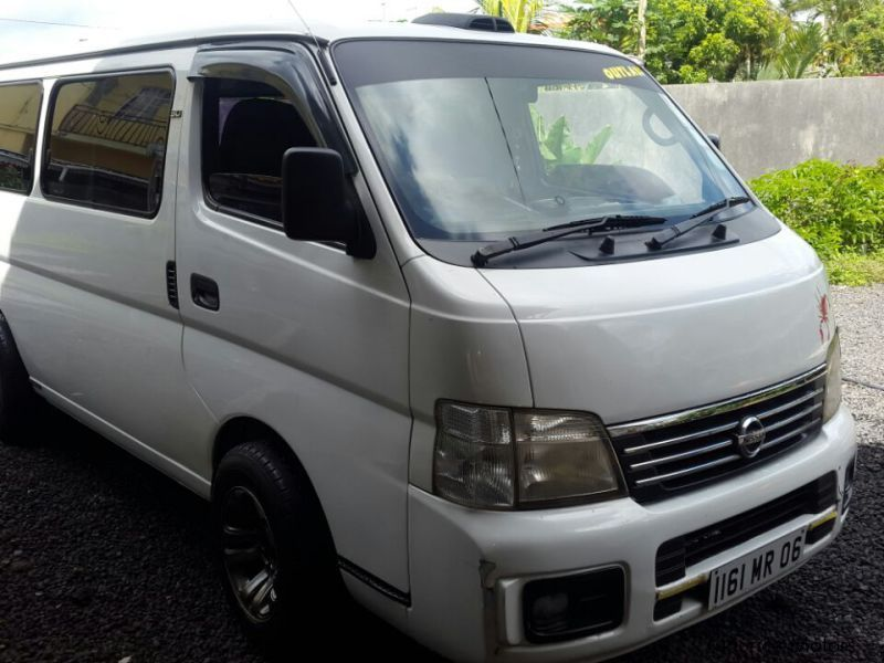 Used Nissan Urvan for sale in Mauritius