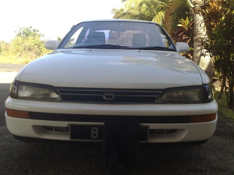 Used Toyota corolla for sale in Mauritius