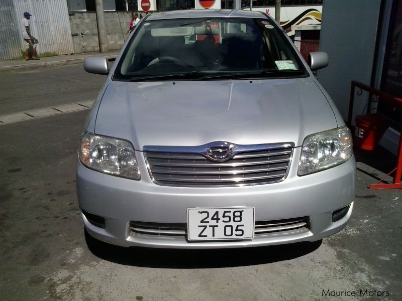Pre-owned Toyota Corolla lx 1.6 for sale in Mauritius