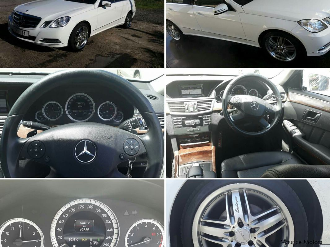 Used Mercedes-Benz E250 in Mauritius