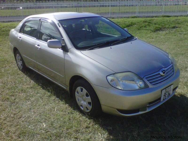 Used Toyota Corolla Nze for sale in Mauritius