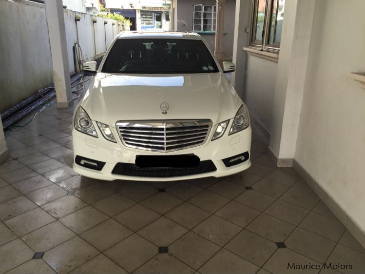 Pre-owned Mercedes-Benz E350 CDI for sale in Mauritius