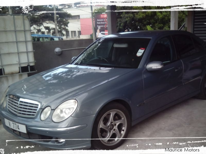 Used Mercedes-Benz E320 CDi for sale in Mauritius