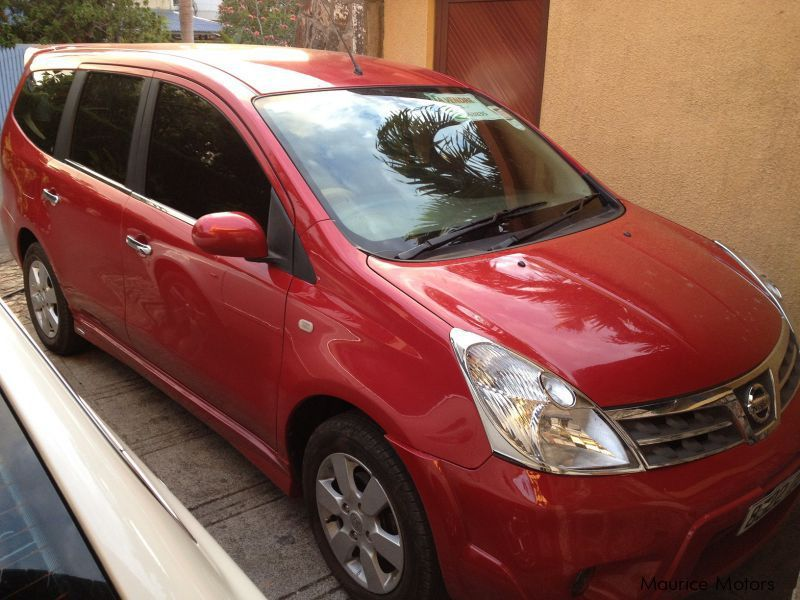 Used Nissan Grand Livina 7 Seater for sale in Mauritius