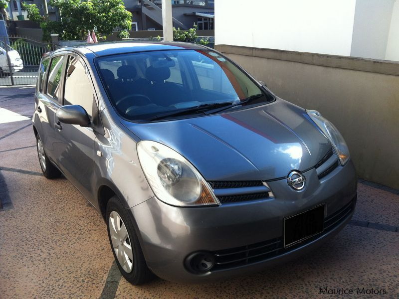 Pre-owned Nissan Note for sale in Mauritius