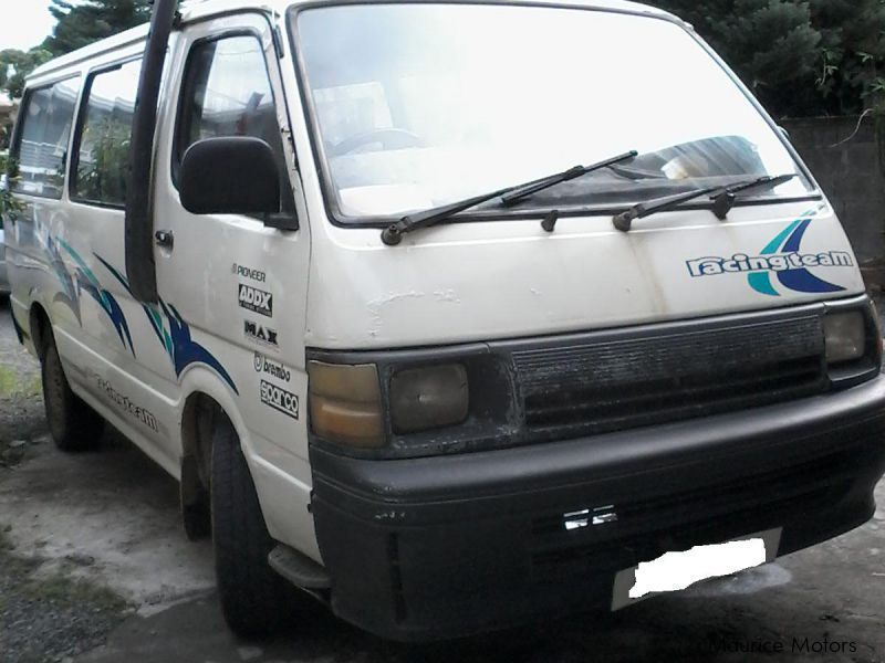 Used Toyota Hiace for sale in Mauritius