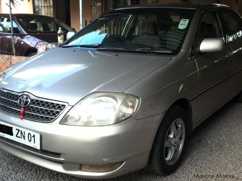 Used Toyota NZE for sale in Mauritius