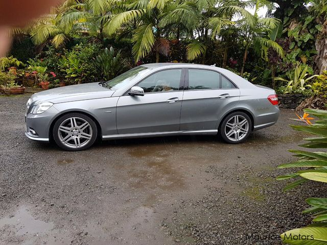 Used Mercedes-Benz E250 AMG in Mauritius