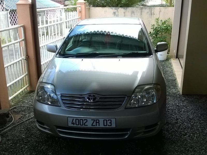 Pre-owned Toyota Corolla NZE LX for sale in Mauritius