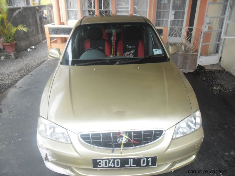 Used Hyundai Accent for sale in Mauritius