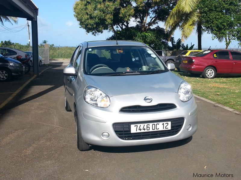 Used Nissan micra for sale in Mauritius