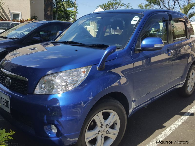 Pre-owned Toyota Rush for sale in Mauritius