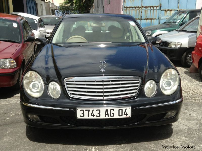 Used Mercedes-Benz E270 for sale in Mauritius