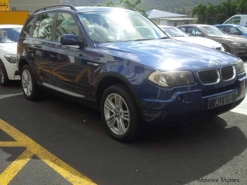 Pre-owned BMW X3 for sale in Mauritius