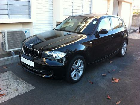 Used BMW 116i for sale in Mauritius