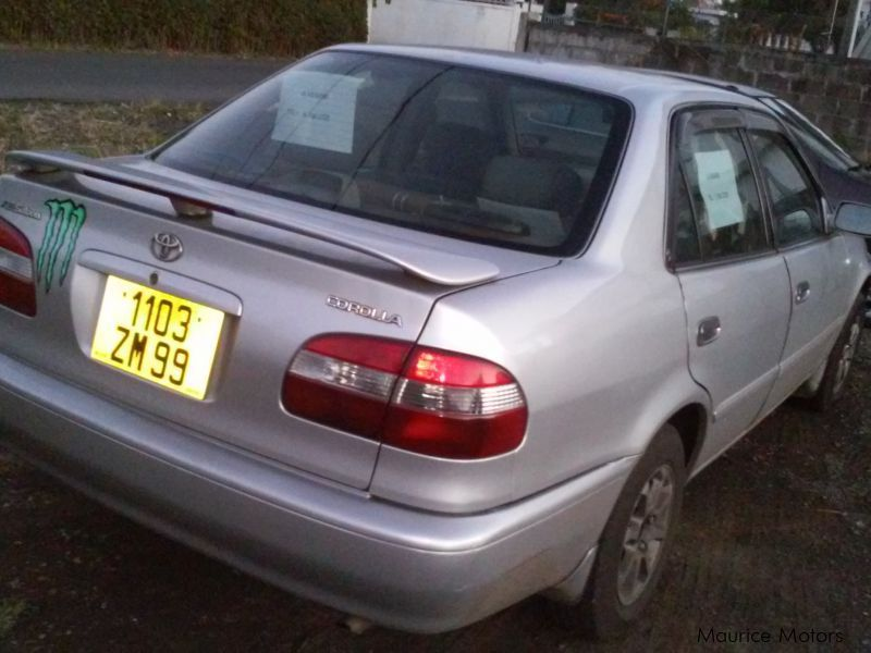 Used Toyota corolla CE 113 for sale in Mauritius