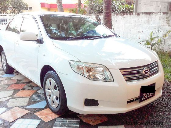 Pre-owned Toyota Axio Grade X for sale in Mauritius