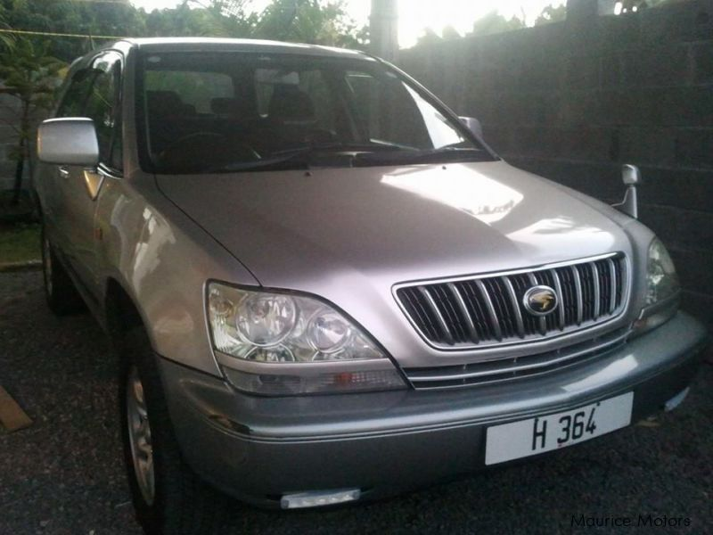 Used Toyota Harrier for sale in Mauritius