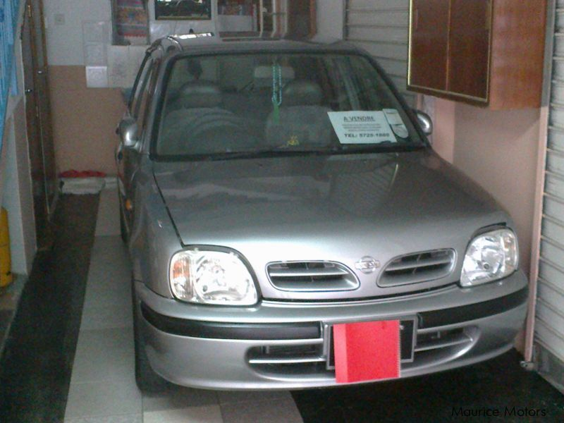 Used Nissan MARCH for sale in Mauritius