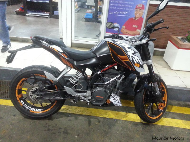 Used KTM ktm duke 125 for sale in Mauritius