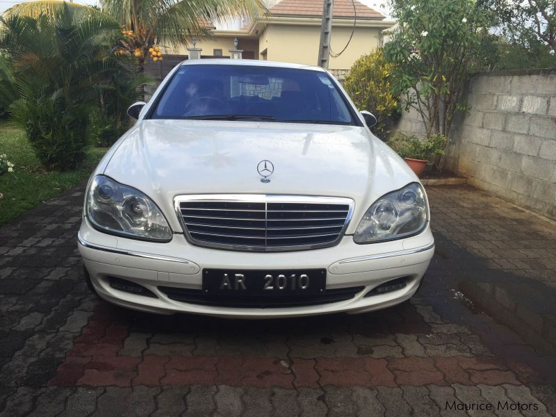 Pre-owned Mercedes-Benz S Class 500 Facelift for sale in Mauritius
