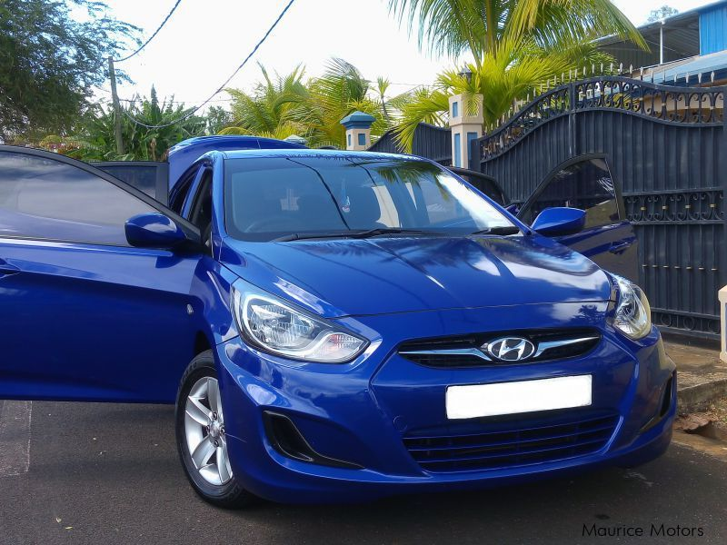 Pre-owned Hyundai Accent for sale in Mauritius