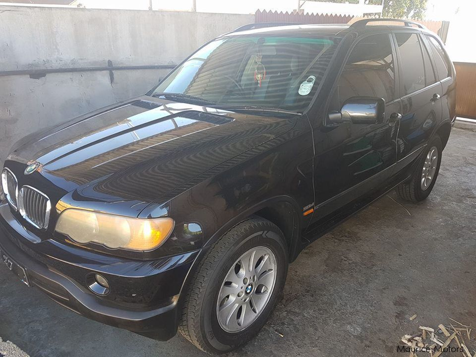 Pre-owned BMW X5 for sale in Mauritius