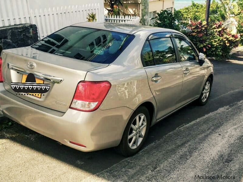 Pre-owned Toyota Axio for sale in Mauritius