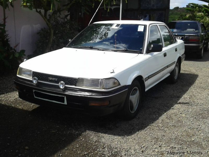 Pre-owned Toyota Corolla EE90 for sale in Mauritius