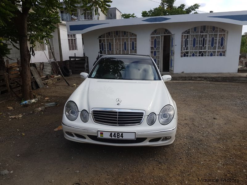 Pre-owned Mercedes-Benz E200 compressor for sale in Mauritius