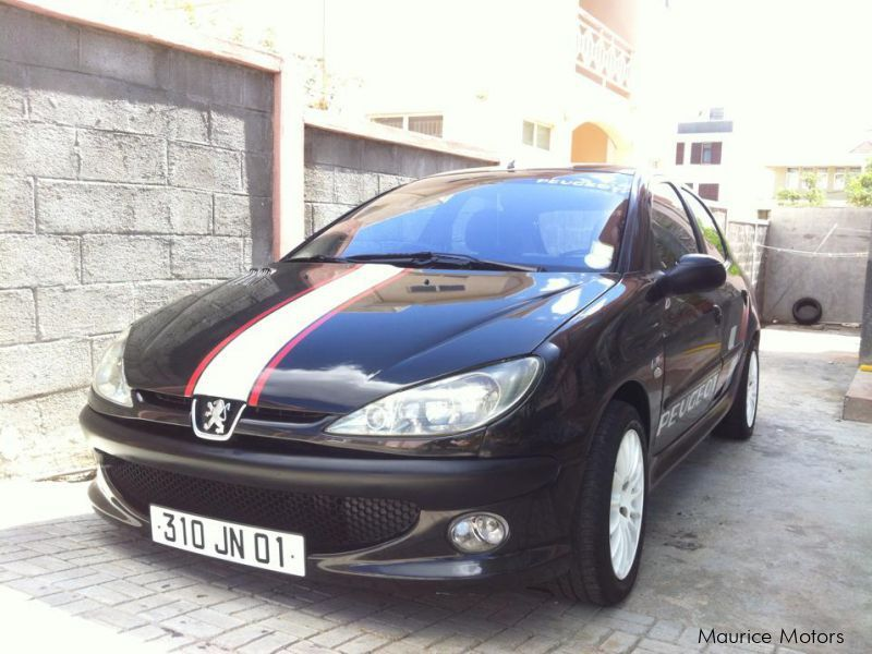 Used Peugeot 206XT for sale in Mauritius