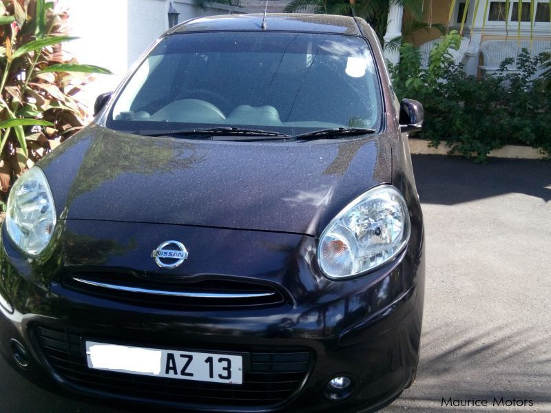 Pre-owned Nissan Maech k13 for sale in Mauritius