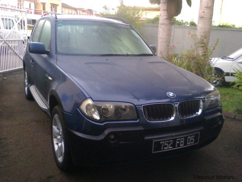 Used BMW X3 for sale in Mauritius