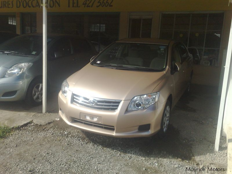 Pre-owned Toyota Axio X with G package for sale in