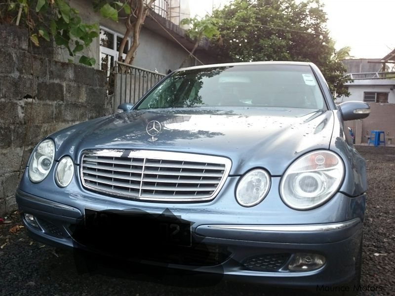 Pre-owned Mercedes-Benz E220 w211 for sale in Mauritius